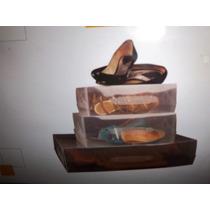 Set De 3 Cajas Para Zapatos Y Botas Importados