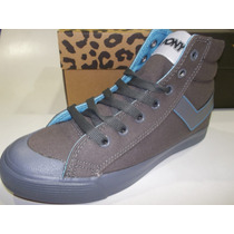 Zapatillas Botita Pony Pipper Full Unisex Lona Original