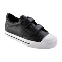 Zapatilla De Topper Profesional Cuero 2 Velcro Kids (020549)