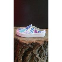 Zapatillas Panchas Estampadas Cosidas Colores Unicos!!!