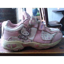 Zapatillas Nena Kitty Originales Nº27-28 Muy Buen Estado