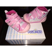 Zapatillas Botitas Para Nena Plumitas Nuevas Oportunidad