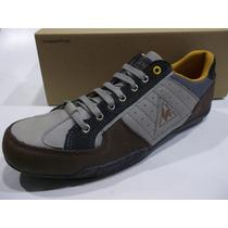 Zapatillas Le Coq Sportif Cuero Maubert Lea Hombre Original