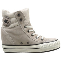 Zapatillas Converse All Star Lux Cuero !! Taco Escondido !