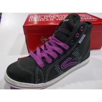 Zapatillas Botita Dunlop Just One Hi Waxy Mujer Original