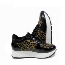 Zapatilla Sneakers Con Plataforma Ultima Moda - Promo Rimini