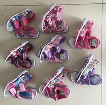 Sandalias Con Luz Personajes Nena Nene X 6 Pares