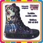 Zapatillas Botitas Monster High - Originales - Mundo Manias