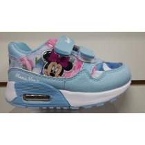 Zapatillas Disney Niña Minnie Mouse Con Luces