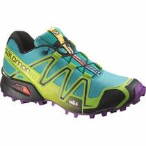 Zapatillas Trail Running Salomon Speedcross 3 W Envios Pais
