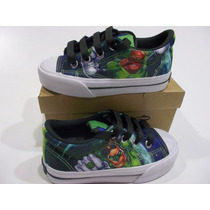 Zapatillas Topper Comics Low Linterna Verde Niño Original