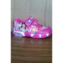 Zapatillas De Violetta Con Luz! Hermosas Importadas Miralas!