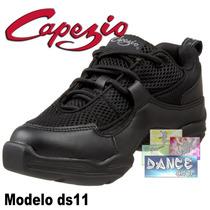 Zapatillas Baile Capezio Ds11 (jazz Tango Salsa Bachata)