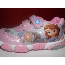 Zapatillas Con Luces Princesita Sofía.