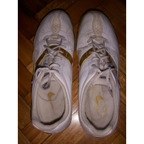 Zapatillas Nike Blancas Con Dorado
