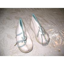 Zapatillas Tipo Botita De Niño T 21 Blanca