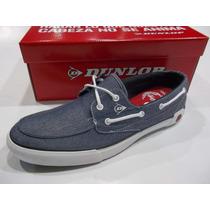 Zapatillas Dunlop Nautic Low Hombre Original De Fabrica