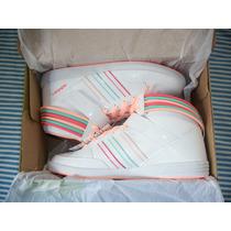 Zapatillas Adidas De Mujer Neo Hoops Bangle Talle 37