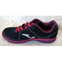 Zapatillas Joma Dama Soft Running Caminata Gimnasio Con Gel
