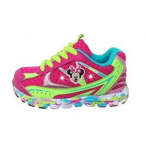 Zapatillas Disney Minnie Con Luces Led - Originales!!