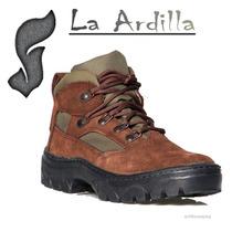 Zapatillas Botin De Trekking Montaña Mochileros Mod 106