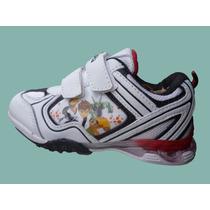 Zapatillas Con Luces, Ben 10!!!