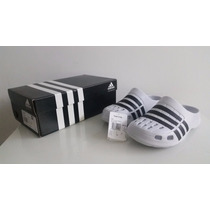 Sandalias Ojotas Adidas Duramo Clog Color Blanco (ultimas 2)