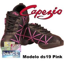 Zapatillas Baile Capezio Ds19 Pink(jazz Tango Salsa Bachata)