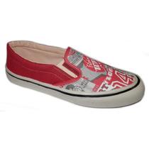 Zapatillas De Lona Nauticas Art2410 Fio Calzados