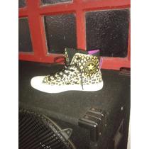 Converse Animal Print Leopardo All Stars Rock