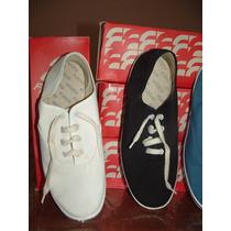 Zapatillas Flecha Náuticas Numero 44 Blanca - Oportunidad!