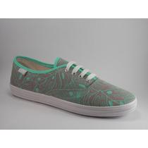 Zapatillas De Lona Acordonadas Art2210 Fio Calzados