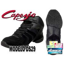 Zapatillas Baile Capezio Ds29 (jazz Tango Salsa Bachata)