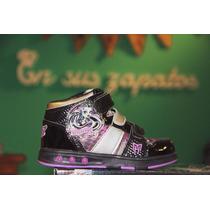 Zapatillas Con Luces Monster - Barbie - Zombies