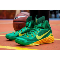 Zapatillas De Basquet Hyperdunk Green Bay Originales De Usa