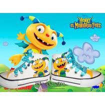 Botitas Pintadas/customizada Personalizadas Henry