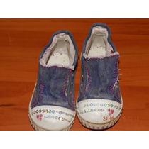 Zapatillas Nena Marca Tridy Kids Usadas N° 22.