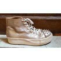 Zapatillas Cuero American Pue Grimoldi Puas 38 Casi Nuevas