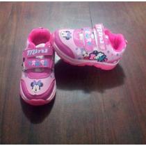 Zapatillas Infantiles Para Nenes Con Personajes $319