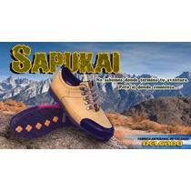 Sapukai Zapatilla De Trekking Zapatillas Outdoor // Delgado