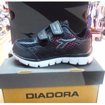 Zapatillas Diadora Running Kids Unisex Talles Del 21 Al 28