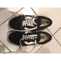 Zapatillas Vans Negras Old School Originales Talle Men Us 8