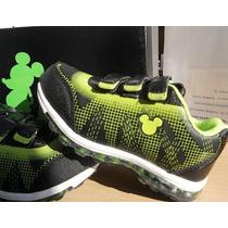 Zapatillas Mickey De Disney Con Luz!