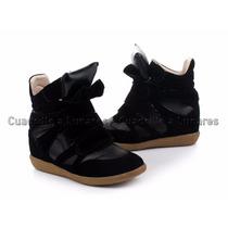 Zapatillas Sneakers Importadas Taco Oculto Ultimo Par!! 38