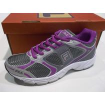 Zapatillas Running Fila Mujer Reach Original De Fabrica