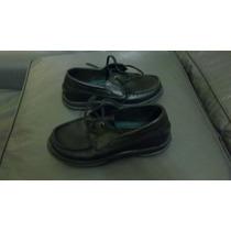 Zapatos De Colegio Kickers Para Niño - Niña