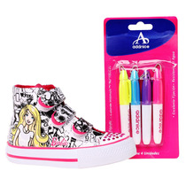 Botas Disney Paint Barbie Sportline