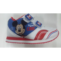 Zapatillas Addnice Mickey Mouse Con Luces