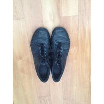 Zapatillas Gola Cuero Negras