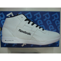 Zapatillas Reebok Workout Mid Ultralite Original Botas Cuero